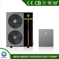 low temp -25c 20kw lower ambient temperature evi cooler heater