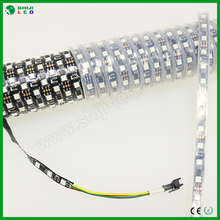 Hot products SMD 5050 RGB led flexible strip ws2811 black PCB