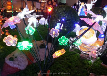 20L LED Christmas Butterfly Dragonfly Flower Ground Insert Light Decoration Light
