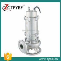1hp submersible pump 316 stainless steel sewage pump specification of submersible water pump