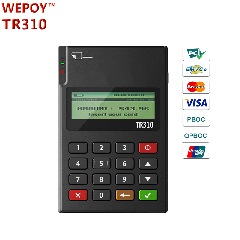 EMV PCI NFC contactless magnetic stripe reader