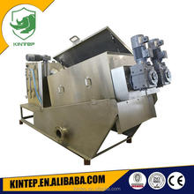 stainless steel multi-disc screw filter press