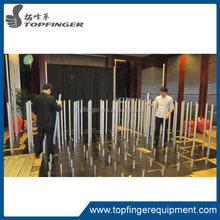 factory price Flexible Pipe And Drape / Telscopic Poles /trade show exhibit design