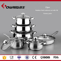 Cheap Well Equipped Stainless Steel Cookware Brand Manufacturer In China