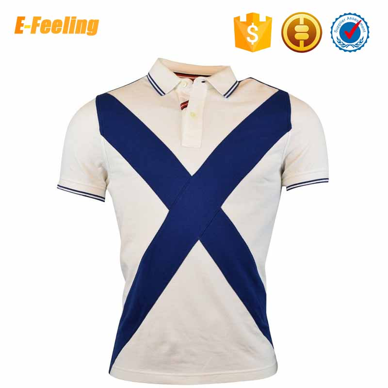Cheap Custom Printed Men Cotton Casual Polo T Shirt