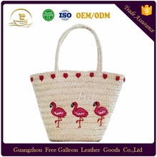 Chinese manufacturers bags women handbags handmade travel tote straw beach bag for ladies