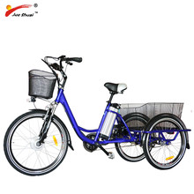 OEM ODM China Hot 36V 250W 350W elder old adult electric tricycle for adults (EB03)