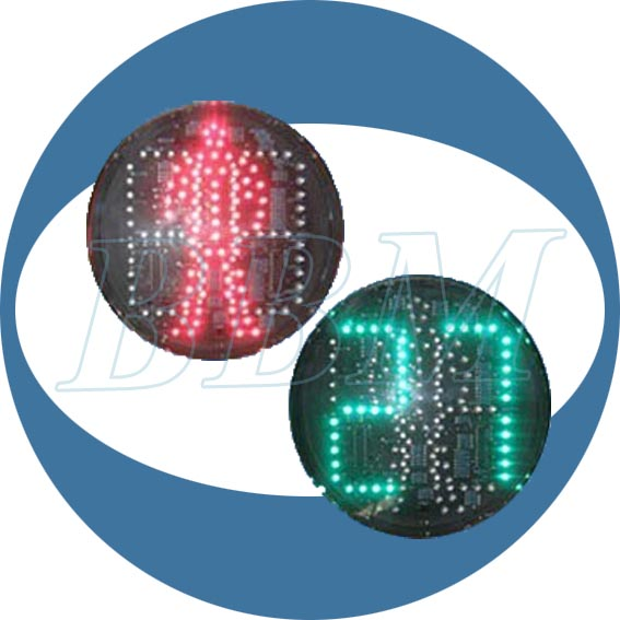 200mm walk pedestrian traffic core led with 2 digit countdown timer