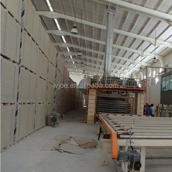 automatic gypsum board production line/gypsum board equipment/gypsum board plant