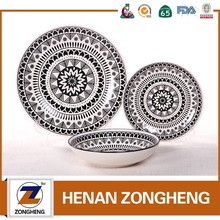 2017 ceramic latest dinner set with popular design