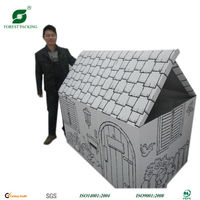 2014 NEWEST ECO-FRIENDLY WHOLESALE CARDBOARD BOX HOUSE