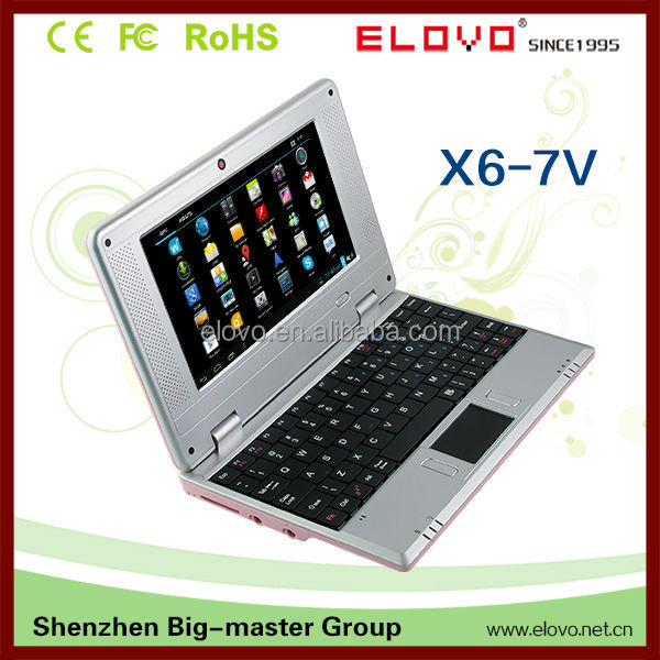 Cheapest mini laptop computers from China 20 years factory ELOVO