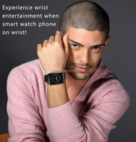 Android 4.4 OS smartwatch, waterproof android watch phone 3G WCDMA wholesale price sample in stock