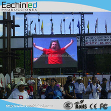 full color P10 outdoor led panel video wall rental outdoor led screen 10 mm with hanging bars for hanging installation