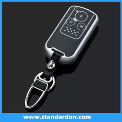 leather car key cover for The honda civic leather remote car key