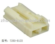 2-pin plastic square shape connector