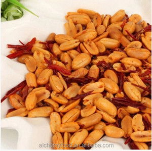 Wholesale crispy chilli flavor coated spicy peanuts