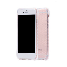 Universal wholesale shockproof soft silicone back cover For iPhone 6-6S 7 7S blank phone silicone case