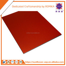 Fire Resistant PVDF Aluminum Composite Panel ACP ACM Aluminum plastic composite for wall decoration and billboards