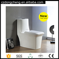 New Model A3994 White One Piece Siphonic Bathroom WC Toilet Bowl