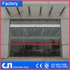 CN 4 Wings Automatic Revolving Door, glass automatic curved door, automatic sliding door Top Quality competitive price factory