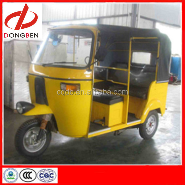 India Bajaj Tuk Tuk Taxi For Hot Sale Three Wheel Motorcycle