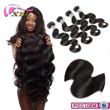 Charming Excellent Quality 2015 XBL 7A Grade Chemical Free hair in usa