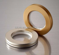 Decorative window curtain Plastic curtain ring plastic curtain eyelets