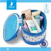 wholesale quality big round cosmetic bags