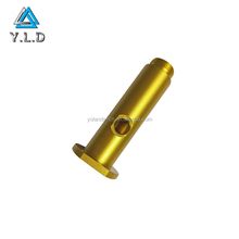 High Quality CNC Machining Non-standard Gold Anodized Aluminum Gift Parts With 20 Years Factory Experience
