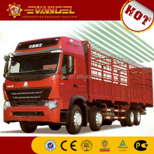 electric cargo van HOWO brand small cargo trucks for sale 10t cargo truck dimensions
