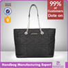 5918--2017 New design good quality pu woman handbag nylon woman hand bag wholesale bolsos Guangzhou factory
