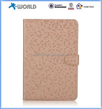 diamond pattern PU leather case for ipad mini 4, Tablet Protective Case for ipad mini 4