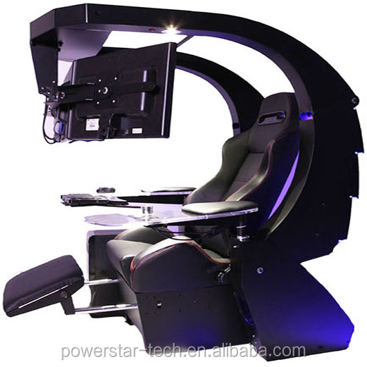 multi-function emperor chair workstation/automatic PC gaming chair