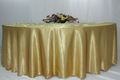 satin table cloth for wedding hotel banquet