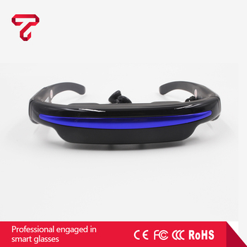 3D Glasses Virtual Reality Gear All In One VR glasses with Wifi and Bluetooth