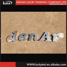 3D Steel Sign for Company logo and Company Name