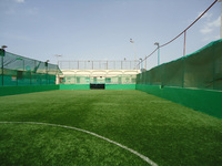 Polyurethane athletic grade backing indoor soccer turf soccer artificial turf price