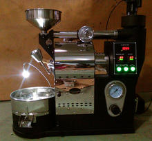 1kg Coffee Bean Roaster Machine with BT ET Thermocouple DL-A721-G