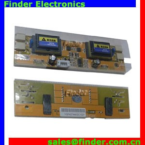 "Universal LCD Backlight Power Inverter Board for 4 CCFL Lamps of 15""-19"" LCD Panel with Small Plugs"
