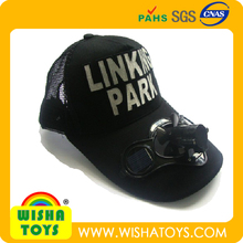 Promotion Baseball Cap with solar power fan