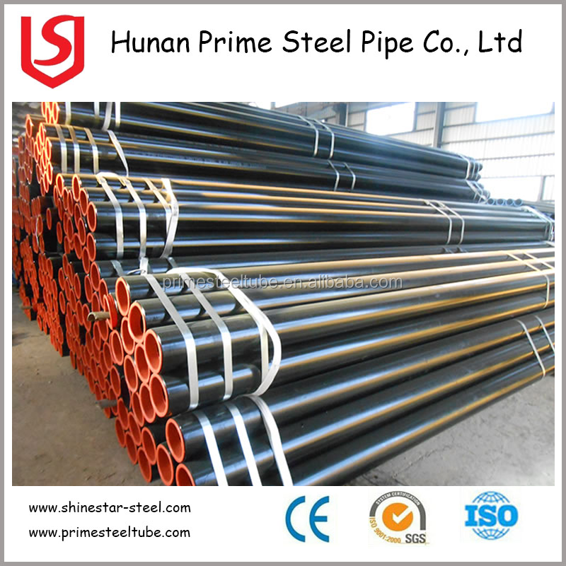 ASTM A 53,ASTM A106 API 5L Gr B Carbon ERW Welded Steel Pipe BARE PIPE OR WITH VARNING PAITING OR WITH GALVANIZED COATING