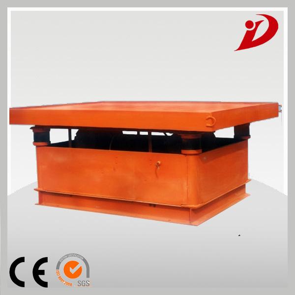 vibrating table concrete machine