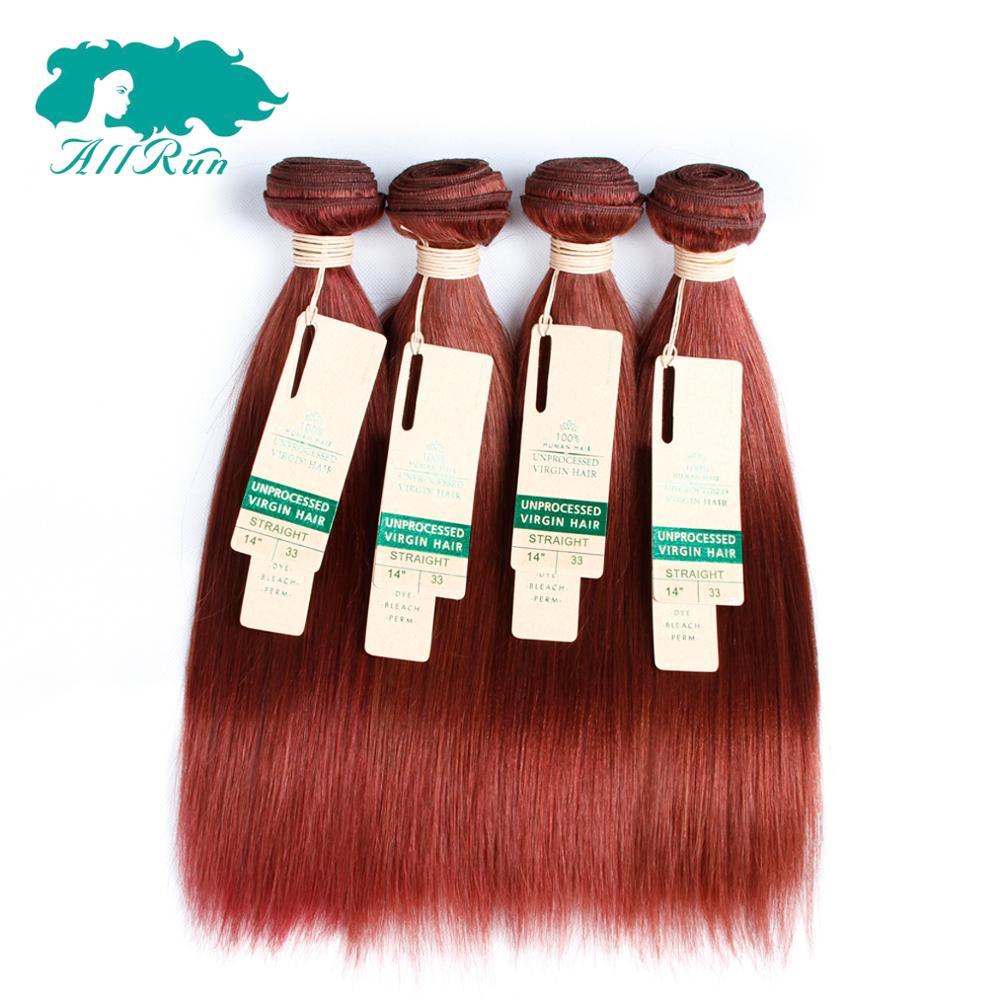 Brazilian Hair Allrun 7a Color 33 Hair Extensions Online Buy