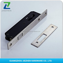 round square iron forend striker magnetic night latch deadbolt backset handle european key hotel removable lock