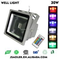 change color mult color deco grass for garden decoration 30w RGB led flood light/led garden light