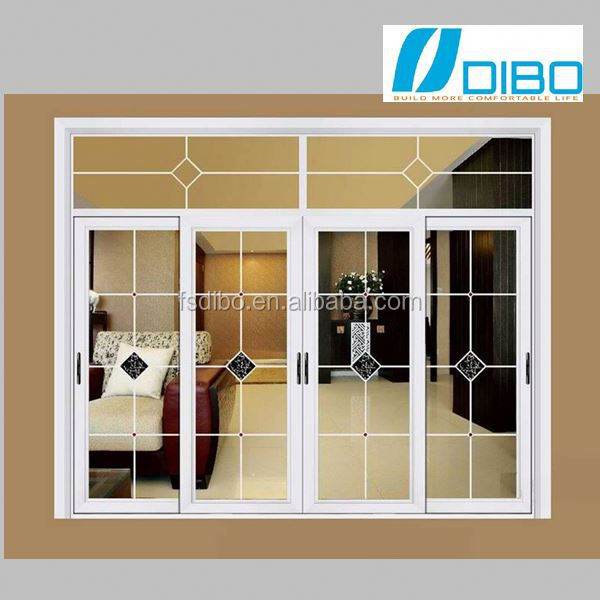 aluminium frame double acting door for coffee shop