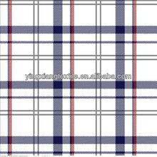 cotton yarn dyed checks and stripes shirt fabric
