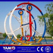 Kids used amusement rides carnival rides ferris ring car/ kids ride on car for sale