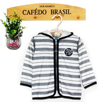 new style winter baby wear with hood and numbers decoration